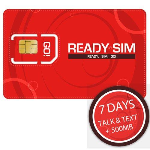 Ready SIM - Tarjeta SIM (para hablar, enviar mensajes y ...