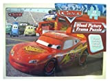 Disney Pixar Cars Wood Picture Frame 12 Piece Puzzle