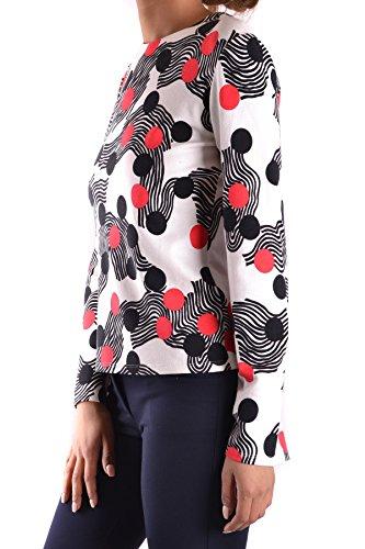 MSGM Femme MCBI217034O Multicolore Viscose Top