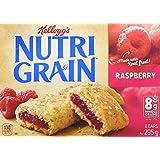 Kellogg's Nutri Grain Cereal Bars Raspberry, 8 Bars 295 Gram