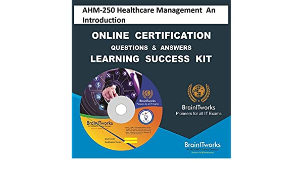 Amazon Com Ahm 250 Healthcare Management An Introduction