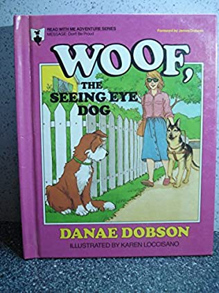 book cover of Woof, the Seeing-Eye Dog