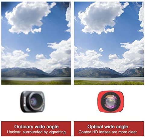 CPL Lens Filter Set for DJI OSMO Pocket OSMO Pocket Accessories Hyx 3 in 1 CR Super Wide Angle Lens 12.5X Macro Lens
