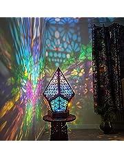 Dastrues Vloerlamp - Boheemse licht, Polar Star grote staande lamp, nacht decoratief LED-nachtlampje, huisdecoratie, ideaal voor slaapkamer, badkamer, keuken