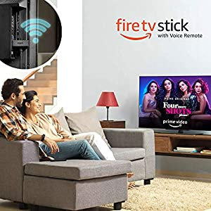 Amazon Fire TV Stick with Alexa Voice Remote | Streaming Media Player | Previous Generation
