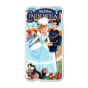 Cinderella II Dreams Come True HTC One M7 Cell Phone Case White Phone cover F7610217