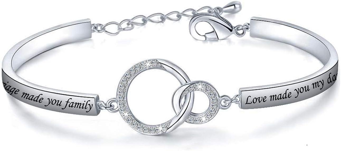 Gift for Daughter in Law, Bracelet