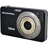 Bell+Howell S30HDZ-BK 15MP Digital Camera with 2.7-Inch LCD (Black)