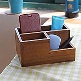 Supla 3 Grids Wooden Planter Box Wood Vase Wooden Garden Planter Window Box Trough Pot Succulent Flower Bed Plant Bed Pot