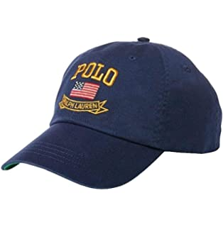 ef97b9a1 Polo Ralph Lauren Men Big Pony Logo Hat Cap One Size White at Amazon ...