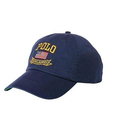 59bae23bb Polo Ralph Lauren Hat, Core Classic Sport Mens Cap (One Size, Navy) at  Amazon Men's Clothing store: