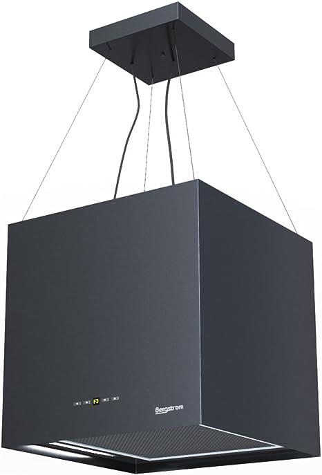 Campana extractora Isla – Campana Acero inoxidable freihängend Negro bergstroemgn Bergstroem Clase energética A [Color Blanco]: Amazon.es: Grandes electrodomésticos