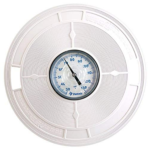 - Pentair L1 White 9-7/8-Inch LID with Thermometers Replacement Pool and Spa Skimmer