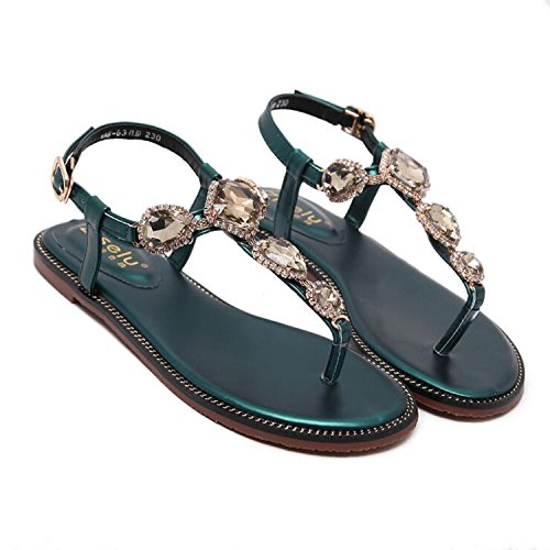 Sandalo Scarpe Sandalo donna basse estivi Calzature Piatti Sandalo Scarpe estive   669b1c