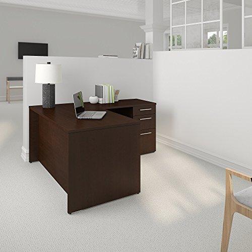 Bush Business Furniture Office Suite 300S095MR, Mocha Cherry by Bush Business Furniture