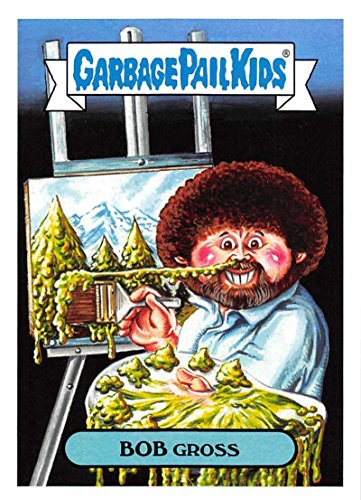 2018 Topps Garbage Pail Kids Series 1 We Hate the 80s Trading Cards 80s CELEBRITIES #7A BOB GROSS ()