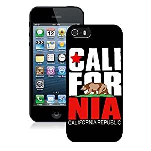 New Unique DIY Antiskid Skin Case For Iphone 5S CALL FOR NIA iPhone 5s Black Phone Case 072