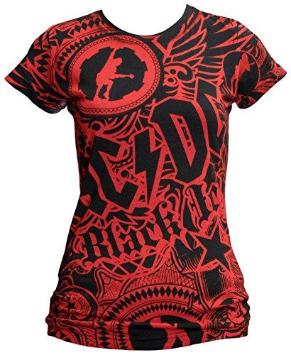 AC/DC Girls Got Rym-Black Women's T-Shirt, X-Large