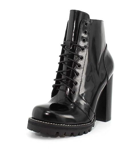 9eaf20feb27 Jeffrey Campbell Women's Legion Lace Up High Heel Booties: Amazon.ca ...