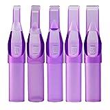 ITATOO 5M1 Tattoo Tips 100pcs 5 Magnum Tips/ 5 Flat Tips Purple Plastic Disposable Tattoo Tips for 1205M1,1205RM,1205M2,1205RM Tattoo Needles (5FT)