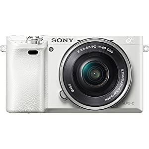 Sony Alpha a6000 24MP Mirrorless Camera 16-50mm & 55-210mm Zoom Lens + 64GB Accessory Bundle + Deluxe Gadget Bag + Extra Battery+Wide Angle Lens+2x Telephoto Lens by Sony