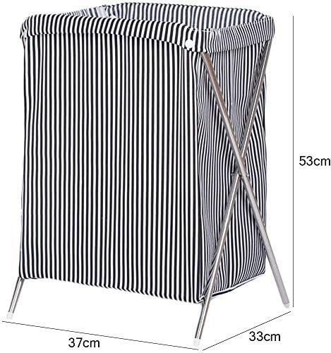 MWPO Paniers à Linge Linge Pliable Respirant Aucune Couverture Panier Sale Vêtements Divers Panier De Rangement, 37 * 33 * 53cm
