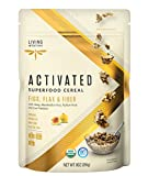 Living Intentions Superfood Cereal, Figs, Flax & Fiber, with Probiotics, 9 Ounce