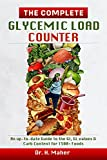 The Complete Glycemic Load Counter: An up-to-date