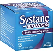 Systane Lid Wipes Eyelid Cleansing Wipes 30 Each (Pack of 3)