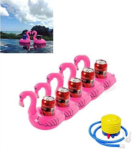 adtobast Juego de 5 flotadores de piscina hinchable Flamenco ...