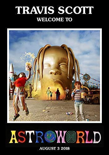 af990f71ea27 TRAVIS SCOTT Astroworld PHOTO Print POSTER Welcome To Rodeo Birds In The Trap  Kanye 006 A3: Amazon.co.uk: Kitchen & Home