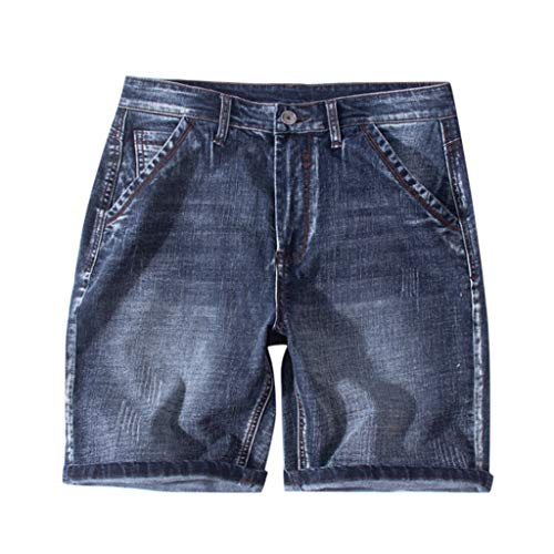 Harem Jeans for Men, F_Gotal Men's Casual Solid Skate Board Hommes Shorts Jogger Shorts Sweatpants Plus Size S-8XL Black