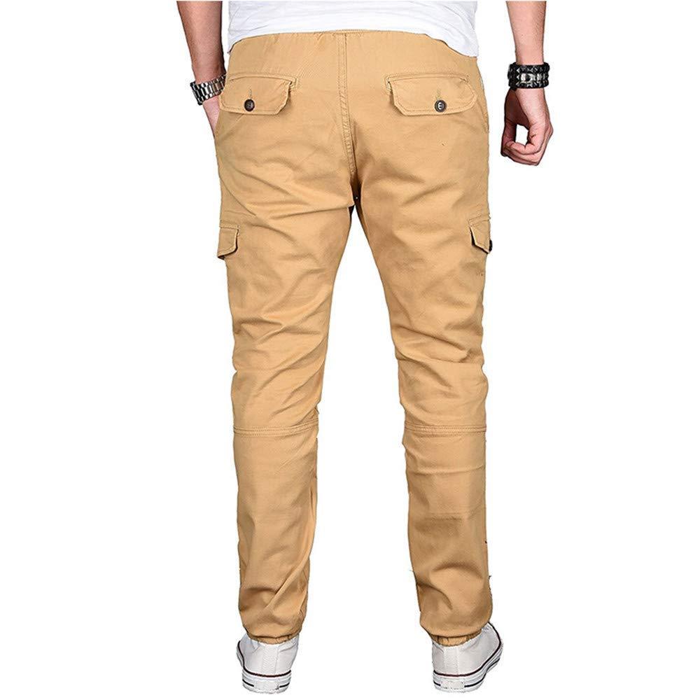 MaxTide Mens Casual Fleece Jogger Sweatpants Cotton Active Elastic Pocket Pants