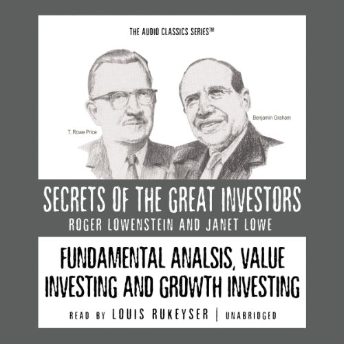 Fundamental Analysis, Value Investing, and Growth Investing Audiobook [Free Download by Trial] thumbnail