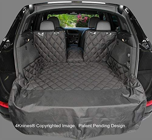 4Knines SUV Cargo Liner for Fold Down Seats - 60/40 Split and armrest Pass-Through fold Down Compatible - Black Extra Large - USA Based Company by 4Knines (Image #8)