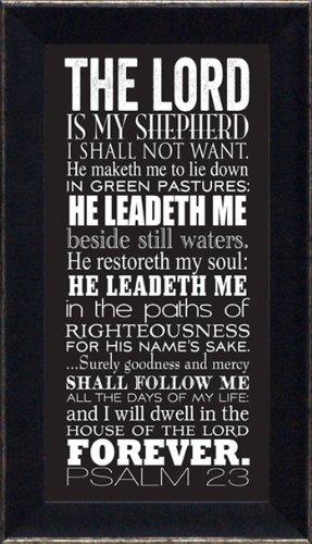 Psalm 23 Framed - 4
