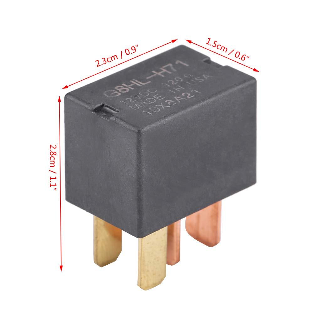 Air Compressor Relay Fuse Relay Switch Car Compressor Starter Relay Switch for Acura Honda Accord Civic 39794-SDA-A05