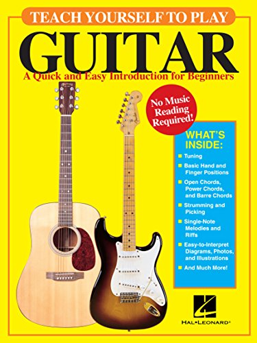 Teach Yourself to Play Guitar: A Quick and Easy Introduction for Beginners (Contact Tuner Guitar)