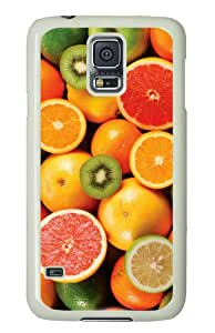 Colorful fruit on the back of Samsung Galaxy S5 case