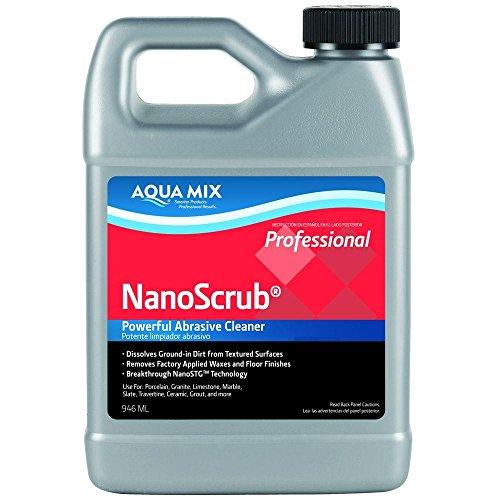 Aqua Mix Nanoscrub Powerful Abrasive Cleaner Quart 32 oz