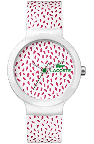 Lacoste Goa Three-Hand White Silicone Unisex watch #2020097