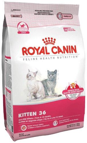 Royal Canin Dry Cat Food, Kitten 36 Formula, 3.5-Pound Bag, My Pet Supplies