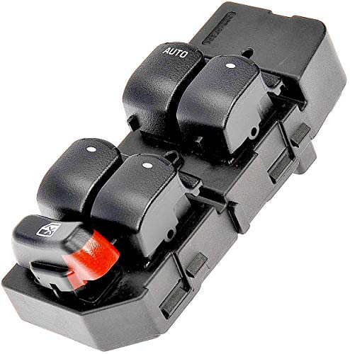 APDTY 15823976 Master Power Window Switch Fits 2008 2009 2010 Chevy Chevrolet Malibu 4-Door Without One Touch Express Open/Close Function (Replaces GM 20807220, 15823976)