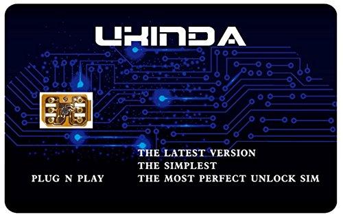Iphone Unlock Card  Ukinda Smart Unlock Verizon Sprint T Mobile Att Gpp Sim For Apple Iphone 7  7 6S  6S 6 6  Se 5C 5S 5
