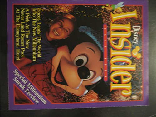 Disney Insider Autograph Magazine Roy