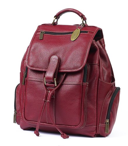 Claire Chase Uptown Back Pack, Red, One Size
