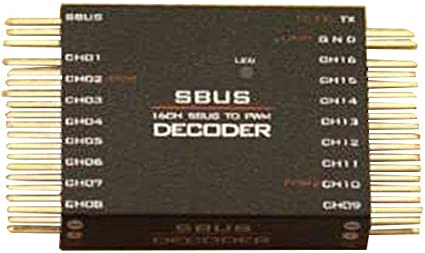 FrSKY SBUS to PWM Decoder