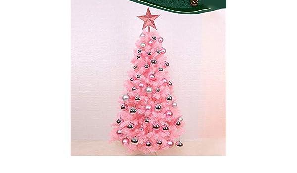 CHHGS Mini Christmas treeTablero Mini Rosa Artificial Árbol De ...