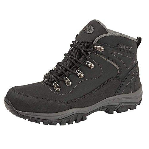 Femmes Gris De Cuir Nord Noir Pour Impermable Randonne Chaussures Du 6 Mmoire ouest Lger 13 Trekking Confort Mousse Taille 4 En 8 7 5 Territoire wYxInq