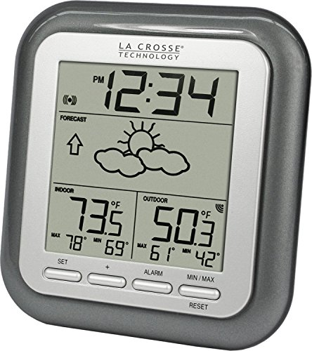 La Crosse Technology WS-9133T-IT Wireless Forecast Station, -